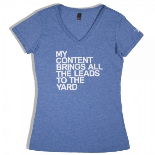 My Content Brings All The Leads to the Yard