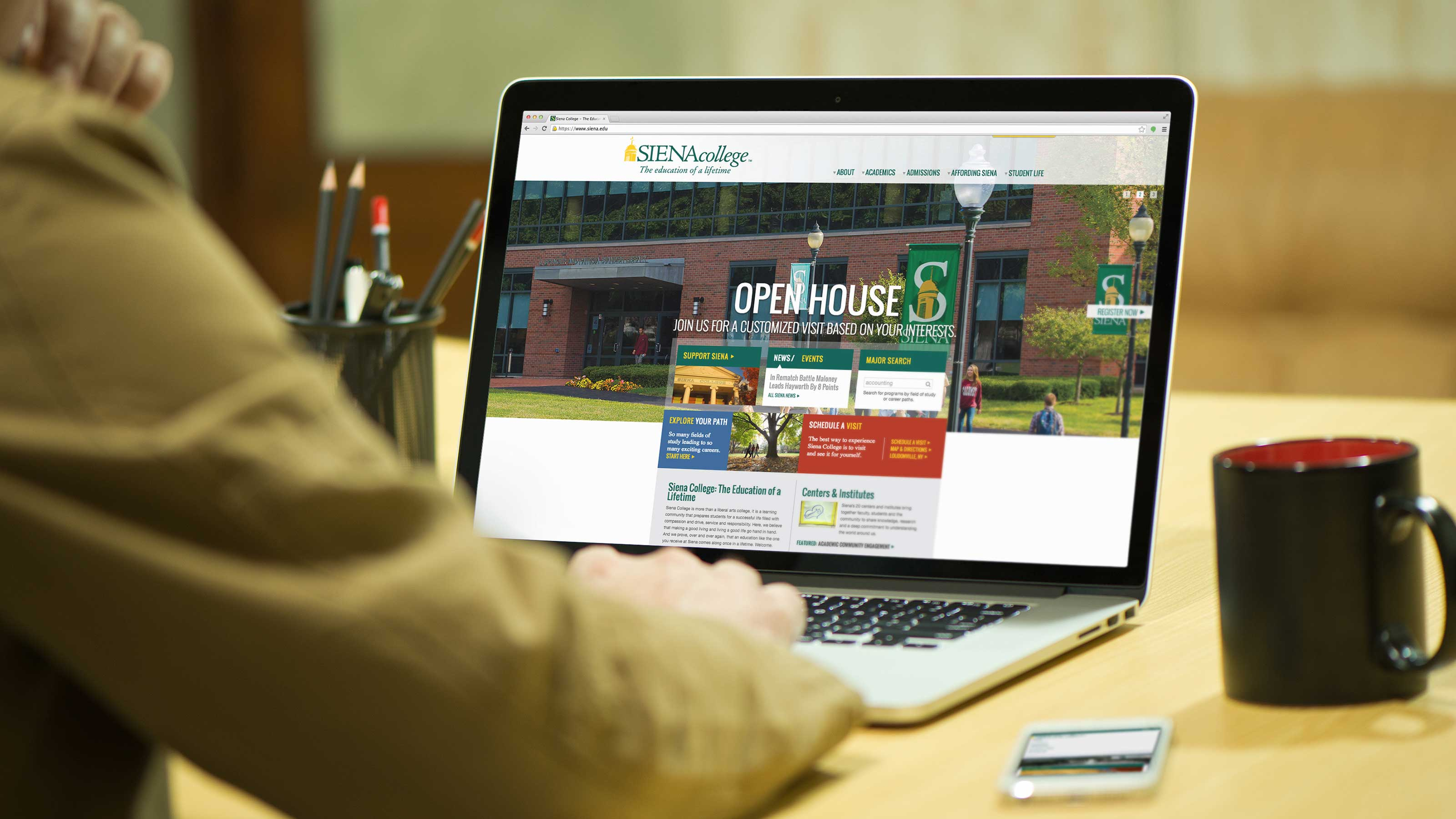 Siena College Website