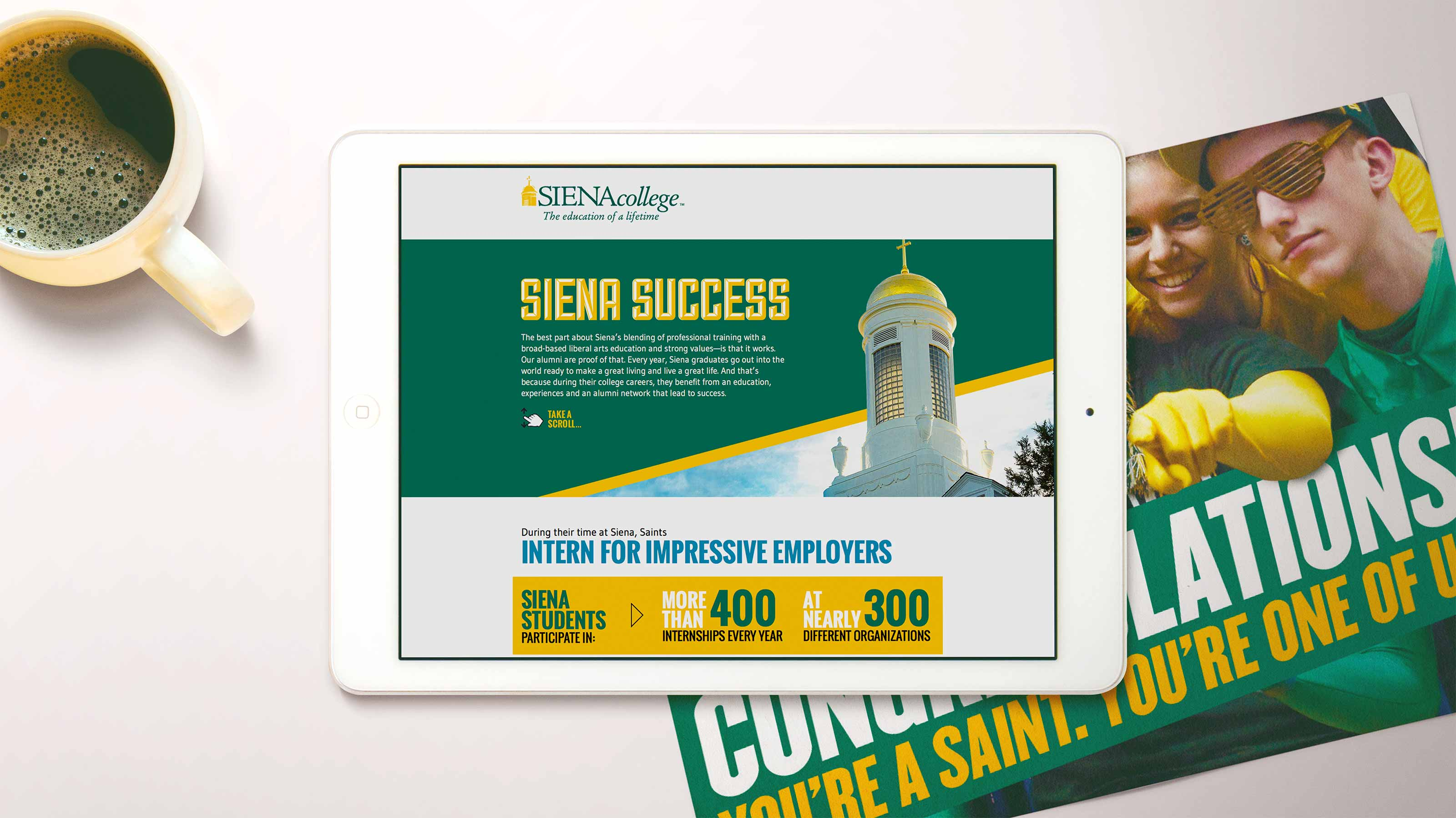 Siena College Success Page