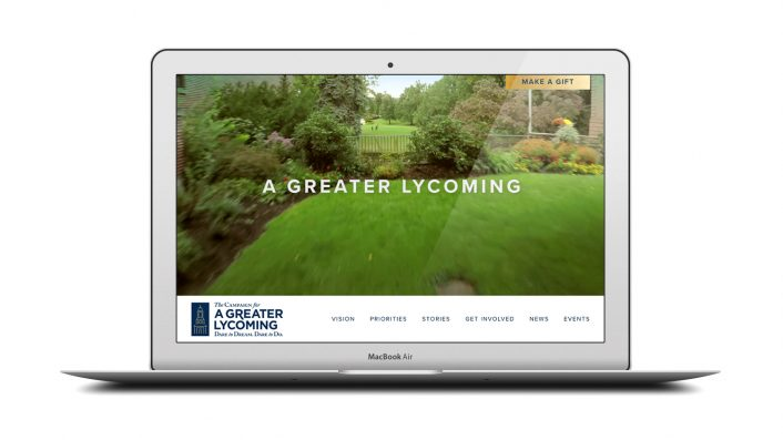 Greater Lycoming Campaign Microsite