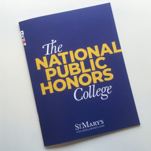 Viewbook for St. Mary's College of Maryland